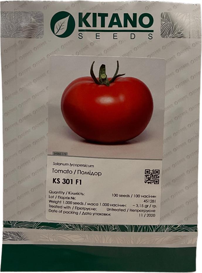 КС 301 F1 (500шт) - Насіння томату індетермінантного, Kitano Seeds