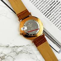 Мужские наручные часы Patek Philippe Calatrava Brown-Gold-White, фото 4