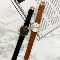 Мужские наручные часы Patek Philippe Calatrava Brown-Gold-White, фото 6