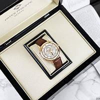 Мужские наручные часы Patek Philippe Grand Complications 5002 Sky Moon Brown-Gold-White, фото 3