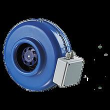 Вентилятор канальный центробежный Вентс ВКМ 100 EC, однофазный, мощность 90Вт, объем 345м3/ч