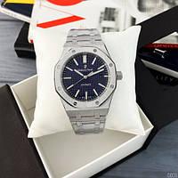 Мужские наручные часы Audemars Piguet Royal Oak 0788 Silver-Blue, фото 6