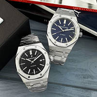 Мужские наручные часы Audemars Piguet Royal Oak 0788 Silver-Blue, фото 7