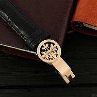 Мужские наручные часы Patek Philippe Grand Complications 5002 Sky Moon Black-Gold-Black, фото 4