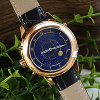 Мужские наручные часы Patek Philippe Grand Complications 5002 Sky Moon Black-Gold-Black, фото 6