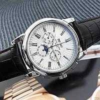 Мужские наручные часы Patek Philippe Grand Complications Roman Black-White, фото 2
