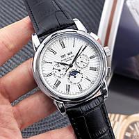 Мужские наручные часы Patek Philippe Grand Complications Roman Black-White, фото 3