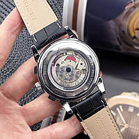 Мужские наручные часы Patek Philippe Grand Complications Roman Black-White, фото 4