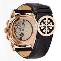 Мужские наручные часы Patek Philippe AAA Black-Gold-Silver, фото 3