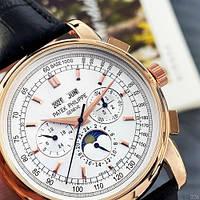 Мужские наручные часы Patek Philippe AAA Black-Gold-Silver, фото 4