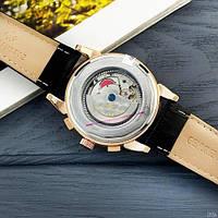 Мужские наручные часы Patek Philippe AAA Black-Gold-Silver, фото 5