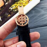 Мужские наручные часы Patek Philippe AAA Black-Gold-Silver, фото 6