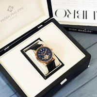 Мужские наручные часы Patek Philippe Grand Complications Tourbillon Gold-Black, фото 5