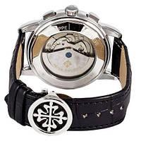 Мужские наручные часы Patek Philippe Grand Complications Tourbillon Black-Silver-White, фото 3