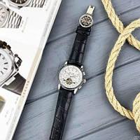 Мужские наручные часы Patek Philippe Grand Complications Tourbillon Black-Silver-White, фото 8