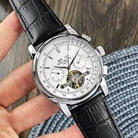Мужские наручные часы Patek Philippe Grand Complications Tourbillon Black-Silver-White, фото 9