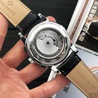 Мужские наручные часы Patek Philippe Grand Complications Tourbillon Silver-Black, фото 3