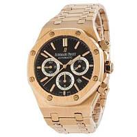 Мужские наручные часы Audemars Piguet Royal Oak Automatic Gold-Black, фото 2