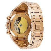 Мужские наручные часы Audemars Piguet Royal Oak Automatic Gold-Black, фото 3