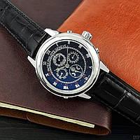 Мужские наручные часы Patek Philippe Grand Complications 5002 Sky Moon Black-Silver-Black, фото 3