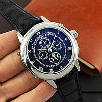 Мужские наручные часы Patek Philippe Grand Complications 5002 Sky Moon Black-Silver-Black, фото 4