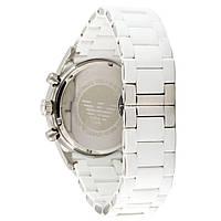Мужские наручные часы Emporio Armani AR-5905 White-Silver Silicone, фото 2