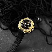 Мужские наручные часы Casio G-Shock GLG-1000 Black-Gold, фото 4