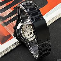 Мужские наручные часы Winner 8067 Black-Silver-Red Cristal, фото 3