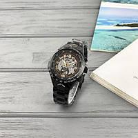 Мужские наручные часы Winner 8067 Black-Silver-Red Cristal, фото 6