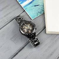 Мужские наручные часы Winner 8067 Black-Silver-Red Cristal, фото 7