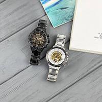 Мужские наручные часы Winner 8067 Black-Silver-Red Cristal, фото 8