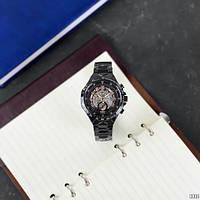 Мужские наручные часы Winner 8067 Black-Silver-Red Cristal, фото 9