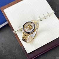 Мужские наручные часы Winner 8067 Gold-Black-White Red Cristal, фото 5