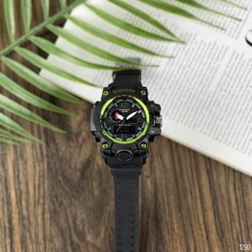 Мужские наручные часы Casio G-Shock GWG-1000 Black-Green