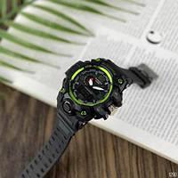 Мужские наручные часы Casio G-Shock GWG-1000 Black-Green, фото 3