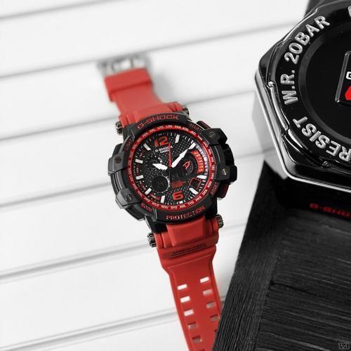 Мужские наручные часы Casio G-Shock GPW-1000 Black-Red