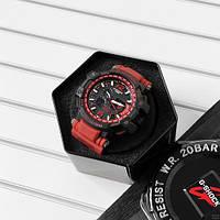 Мужские наручные часы Casio G-Shock GPW-1000 Black-Red, фото 3