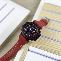 Мужские наручные часы Casio G-Shock GPW-1000 Black-Red, фото 4