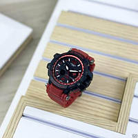 Мужские наручные часы Casio G-Shock GPW-1000 Black-Red, фото 5