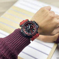 Мужские наручные часы Casio G-Shock GPW-1000 Black-Red, фото 6