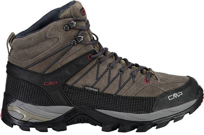 Ботинки мужские Cmp Rigel Mid Trekking Shoes Wp (3q12947-02pd), фото 2