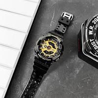 Мужсие наручные часы Casio G-Shock GA-110 Black-Gold New, фото 5