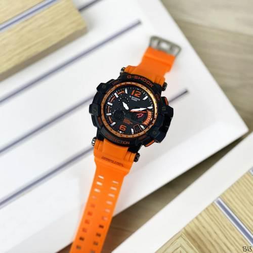 Мужские наручные часы Casio G-Shock GPW-1000 Black-Orange