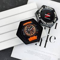 Мужские наручные часы Casio G-Shock GPW-1000 Black-Orange, фото 4