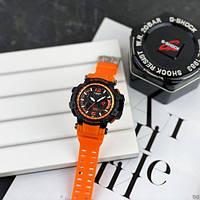 Мужские наручные часы Casio G-Shock GPW-1000 Black-Orange, фото 5