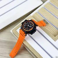 Мужские наручные часы Casio G-Shock GPW-1000 Black-Orange, фото 6