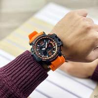 Мужские наручные часы Casio G-Shock GPW-1000 Black-Orange, фото 7