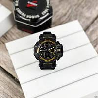 Мужские наручные часы Casio G-Shock GW-A1100 Black-Gold, фото 2