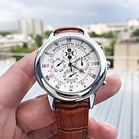 Мужские наручные часы Patek Philippe Grand Complications 5002 Sky Moon Brown-Silver-White New, фото 2