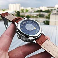 Мужские наручные часы Patek Philippe Grand Complications 5002 Sky Moon Brown-Silver-White New, фото 3